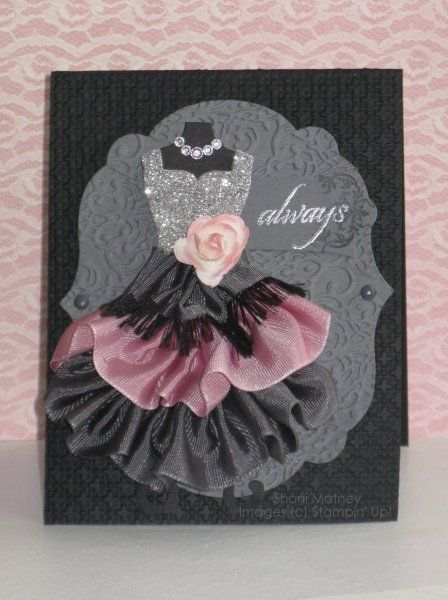 #Handmade #Cards - All Dressed Up - Stampin' Connection http://www.mycraftkingdom.com                                                                                                                                                                                 More