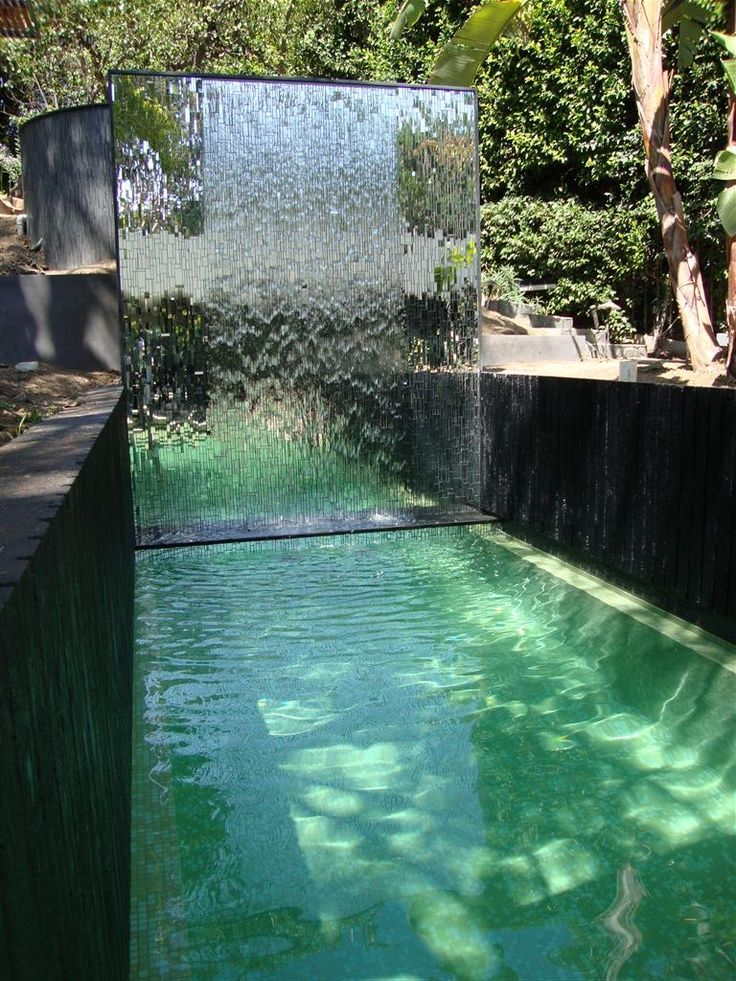 178 best water features images on pinterest pool for Swimming pool water features