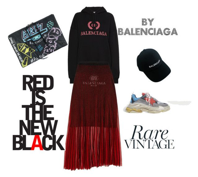 """""""18.01.08"""" by chicwomens on Polyvore featuring Balenciaga and Hoodies"""