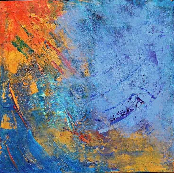 'Crash' by Uxbridge Ontario artist Carolyn Bather. Carolyn's love of texture of…