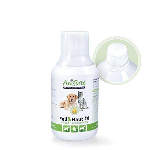 Aus der Kategorie Fischöl  gibt es, zum Preis von EUR 20,95  <b>AniForte® Fell & Haut Öl</b>  <br>Ergänzungsfuttermittel für Hunde, Katzen und Pferde  <br>  <br> Die Rezeptur von  <b>AniForte® Fell & Haut Öl</b> wirkt sich durch seine komplexe Kombination aus Fettsäuren positiv auf das Immunsystem aus, reinigt das Blut und unterstützt den Herz-Kreislauf. Es hat außerdem einen positiven Einfluss auf die Fellbeschaffenheit, Hauterkrankungen, Magen-Darmerkrankungen und allgemein entzündliche…