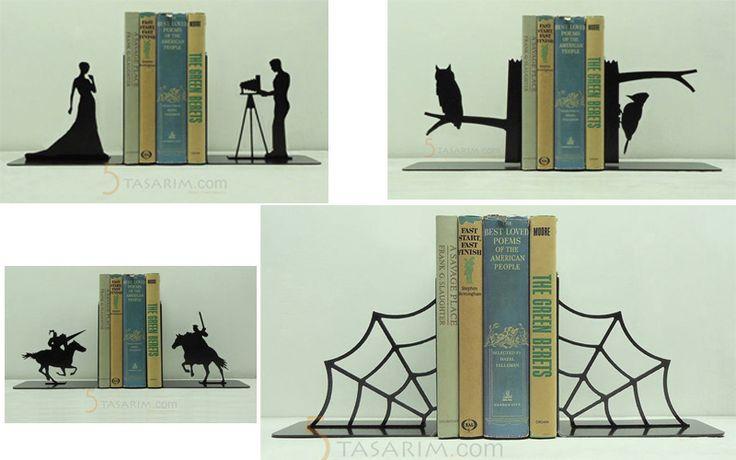dekoratif kitap desteği modelleri