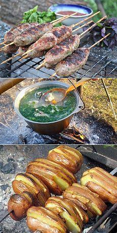 5 простых и вкусных блюд для костра!..