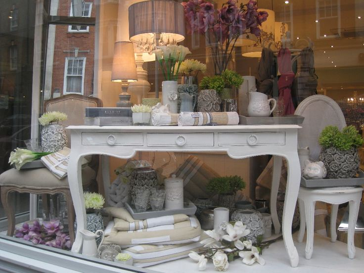 florist shop window display ideas - Google Search