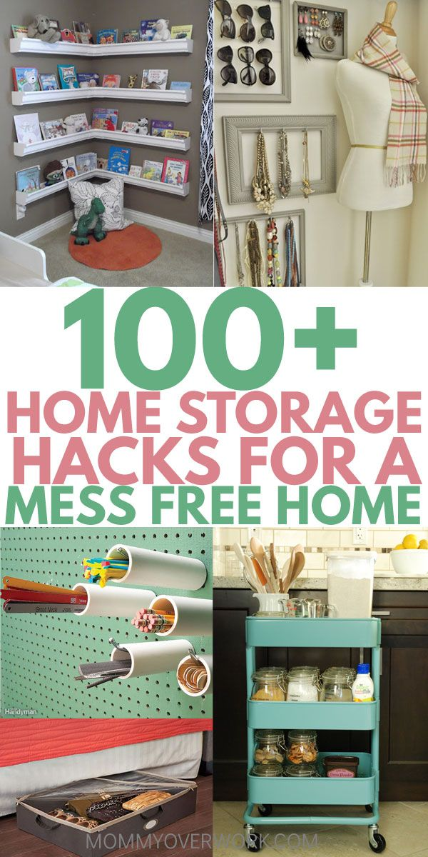 Home Organization 100 Storage Solutions For A Clutter Free Home