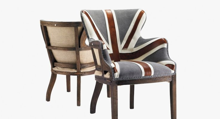 Great Britain Armchair - Maison Corbeil