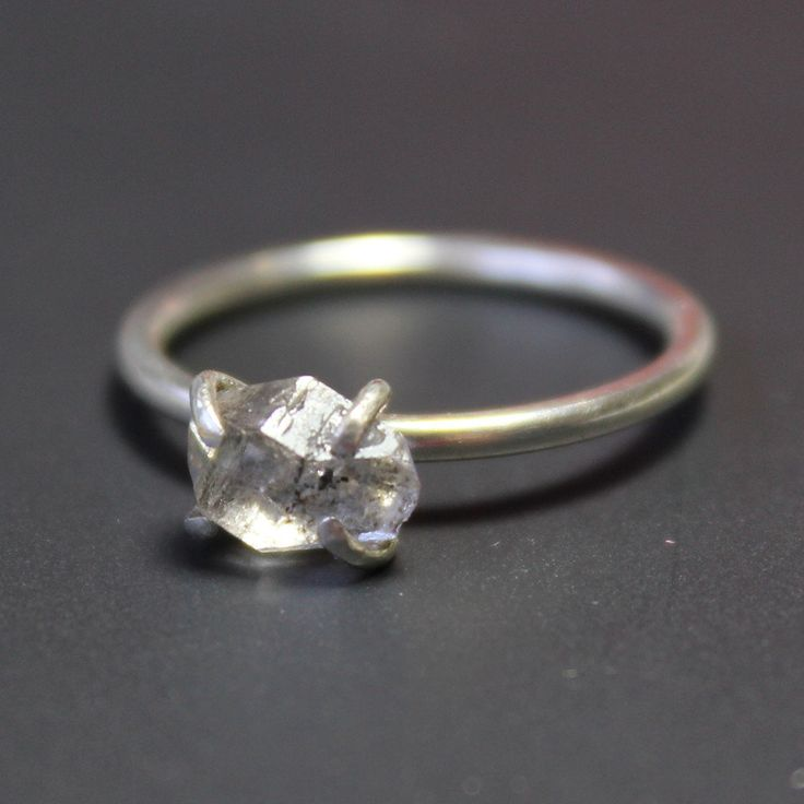 Pretty Birds Creations - Herkimer Diamond Ring