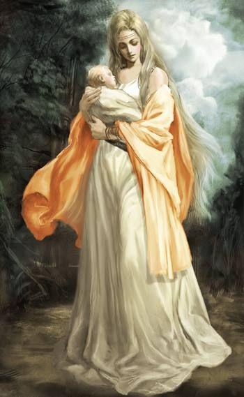 フレイヤ女神。女神の絵アイデア