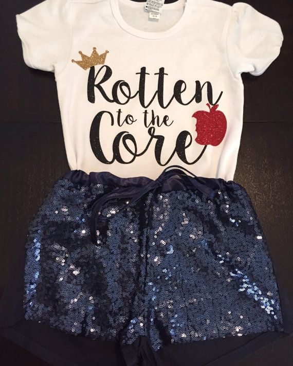 Disney Descendants Inspired Rotten To The Core Shirt By OhanaGirls