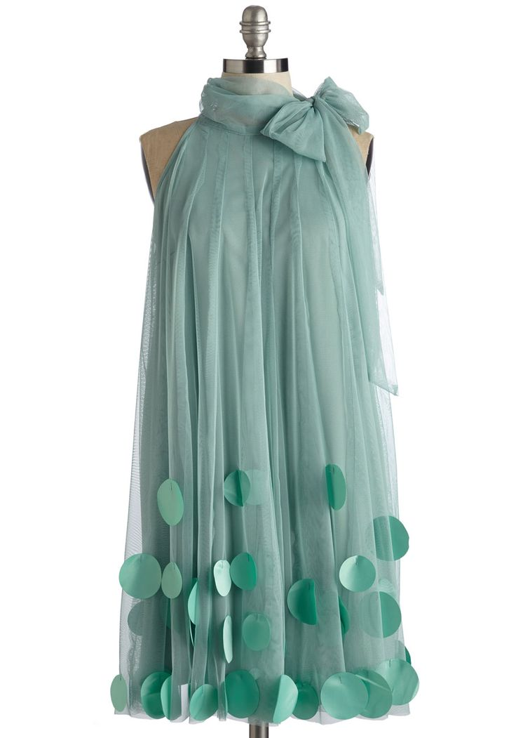 All Neutral Dress in Sage. This lovely green dress from Ryu will have everyone at your garden party talking! #mint #prom #modcloth