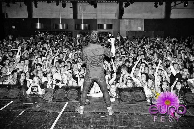 Joee Di Simone rockin' the crowd at Eurofest (5/4/2013)
