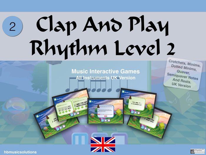 Clap And Play Rhythms Level 2