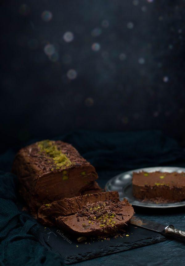 """""""Anya, ez isteni!..."""", avagy Gabojsza konyhája: Csokoládés-pisztáciás semifreddo"""