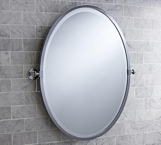 Pottery Barn Pivot Vanity Mirror: Kensington Pivot Oval Wall Mirror