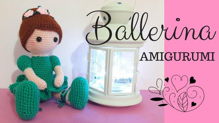Ballerina AMIGURUMI - Crochet a Dancer (english sub)
