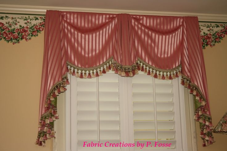 Bordeaux Valance By Fabric Creations Curtains Swags