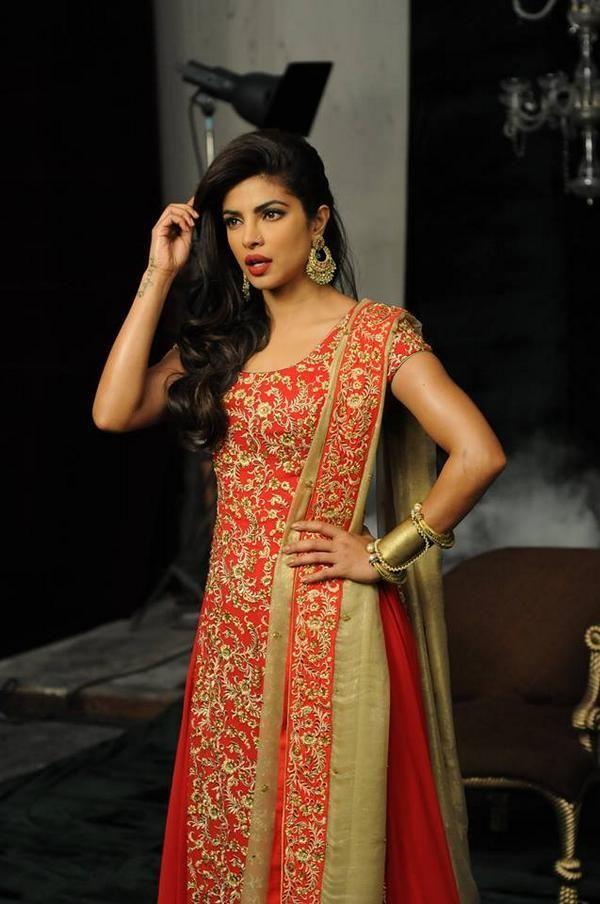 Priyanka Chopra shoots for a print Ad