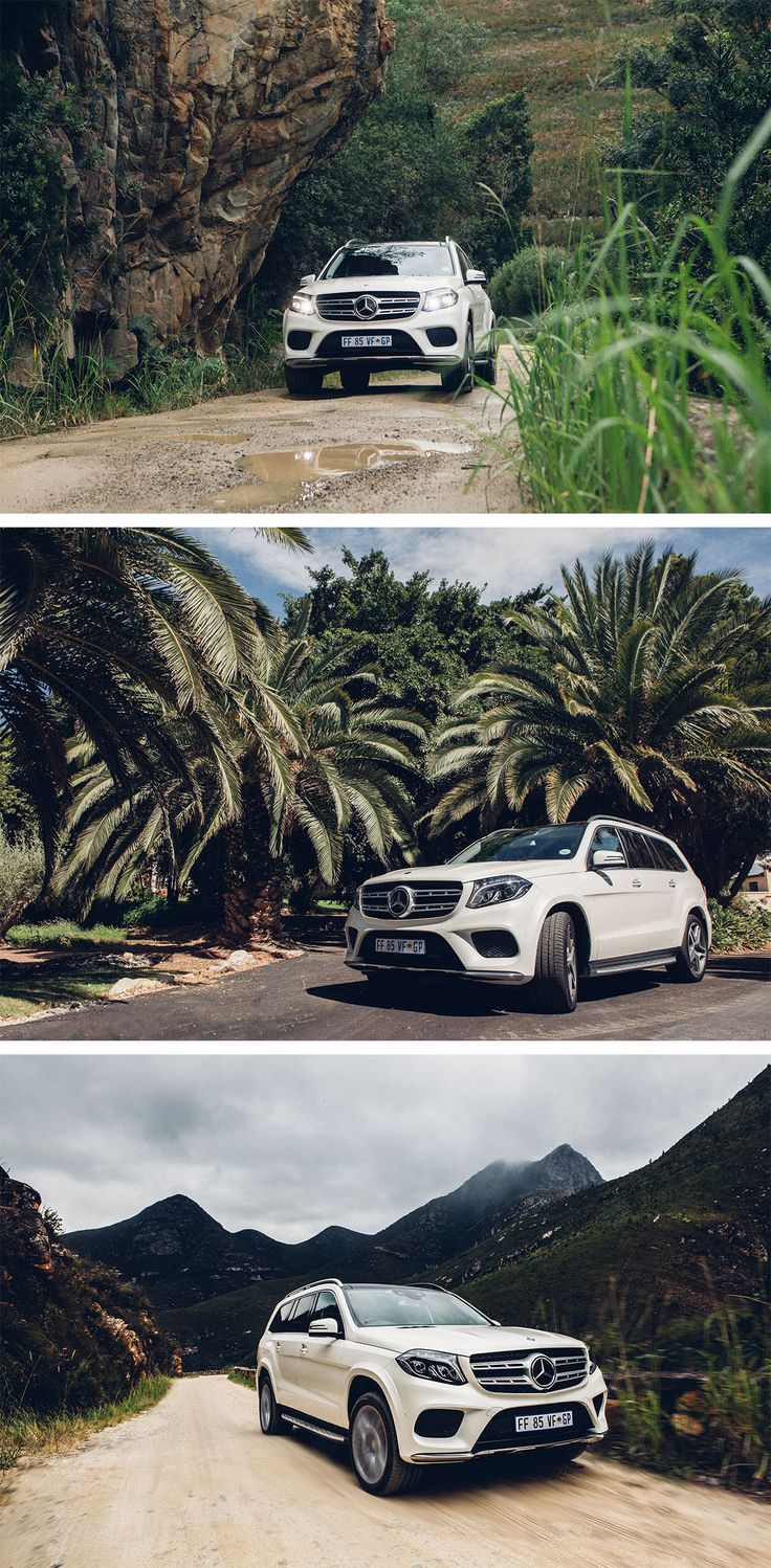 The Mercedes-Benz GLS 500 4MATIC catapults us with ease out of the bends and up the hill without losing traction.  Photos by Till van Loosen (www.tillvanloosen.com) for #MBsocialcar