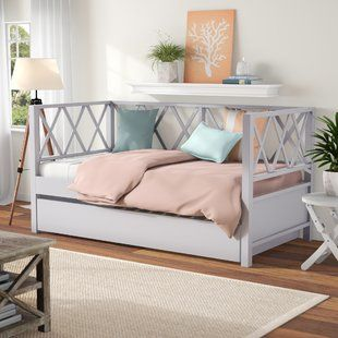 Jaylan Twin Daybed Daybed With Trundle Twin Daybed With Trundle Daybed With Storage