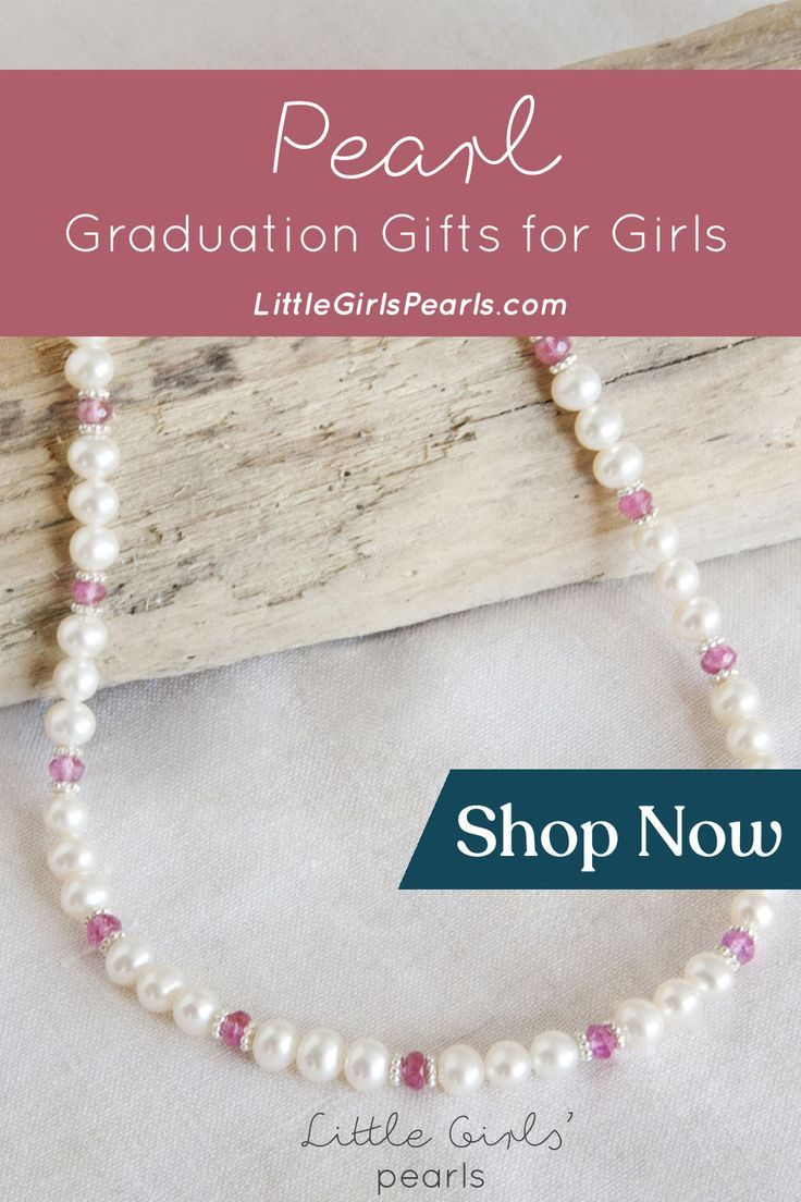 Find beautiful and unique pearl graduation gifts that the