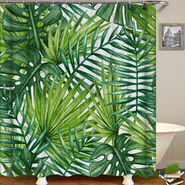 Tropical Banana Leaf Cattail Leaf Green Plant 3d Digital Printing