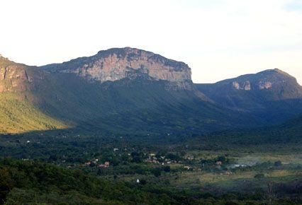 Vale do Capão - Pousada Villa Lagoa das Cores no Vale do Capão, Chapada Diamantina - Bahia - Brasil