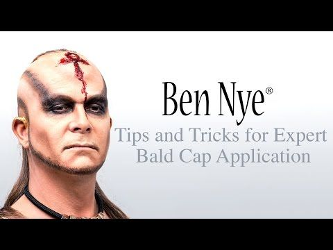 Ben Nye's Tips and Tricks for Expert Bald Cap Application - YouTube