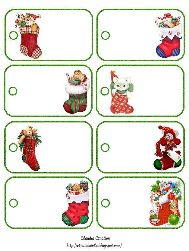 Molto Oltre 25 fantastiche idee su Targhetta natalizia su Pinterest  RW23