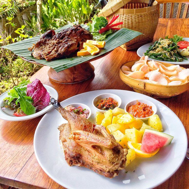 Bebek Bengil Dirty Duck Diner @ Ubud Bali
