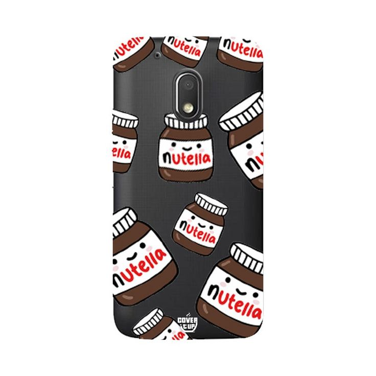 Nutella Moto G4/G4 Plus Clear Case - Moto G4/G4 Plus - Motorola - Phone Cases