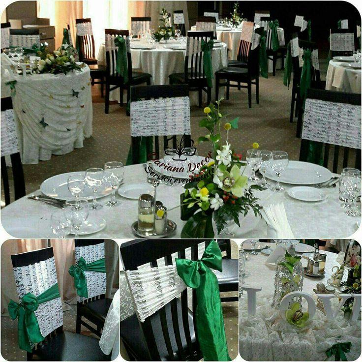 Alb verde smarald