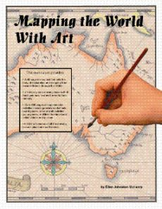 Mapping the World with Art combines drawing lessons with geography and history.  It is designed for grades 6 and up.