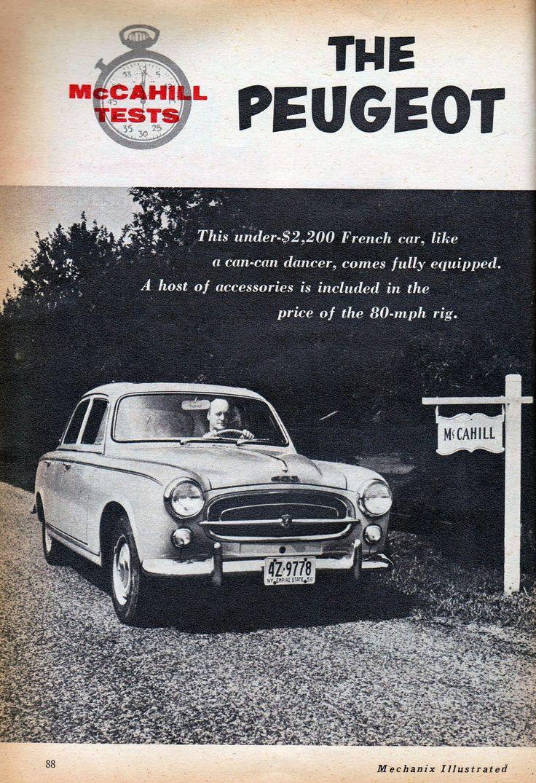 The Peugeot