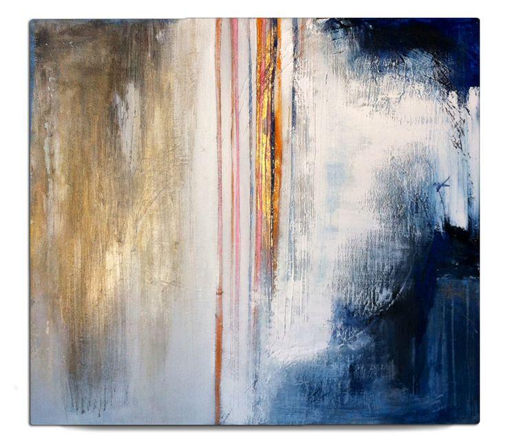 Neve (mixed media on wood, 2014) | by Beatrice Zagato | abstract art