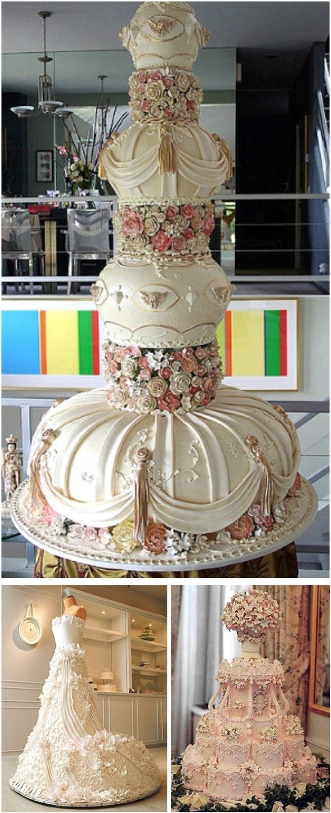 What do you think about these amazing cakes Ladies???