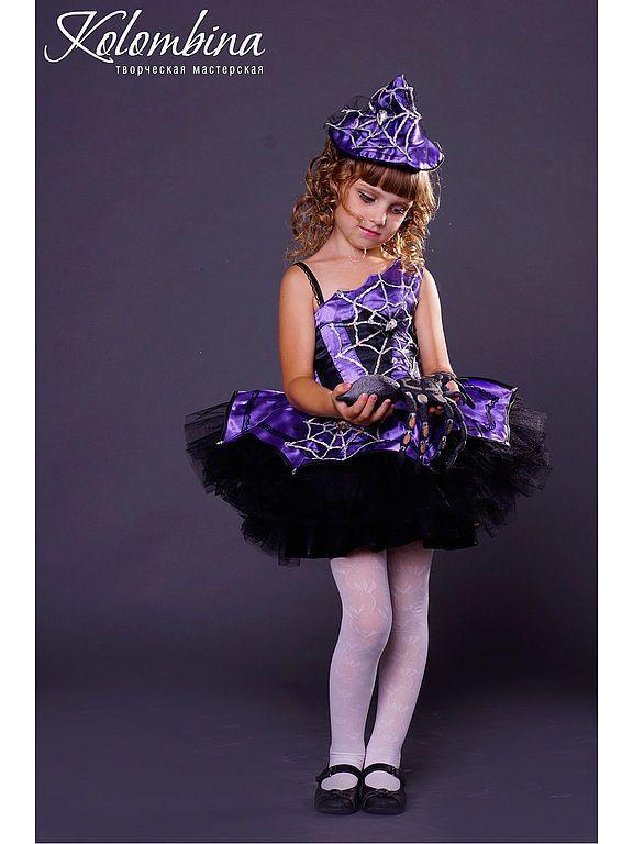 Купить карнавальный костюм ведьмы, колдуньи - тёмно-фиолетовый, карнавальные костюмы, маскарадные костюмы