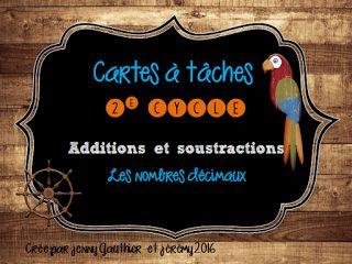 Blogue sur l'enseignement, le partage de matériel et de petites trouvailles.