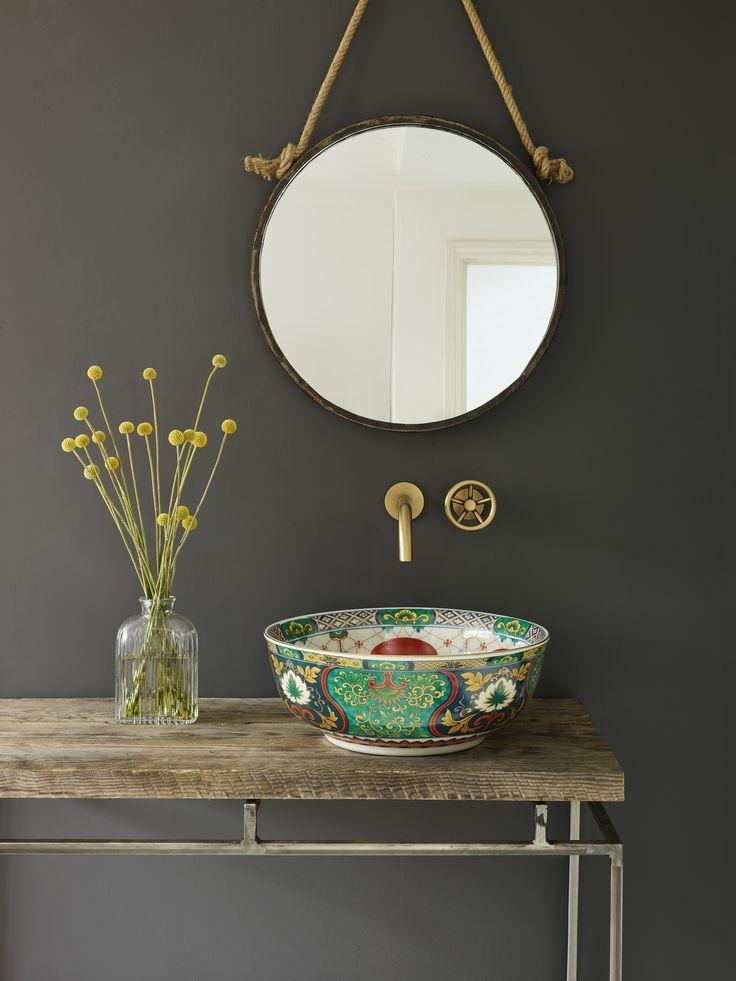 Salle de Bain / maison / baignoire / bathroom / bath / bathub / loft / déco / deco / housedecor / homedécor /   Réalisation The London Basin Compagny  http://decoration.datcha-inspire.com/