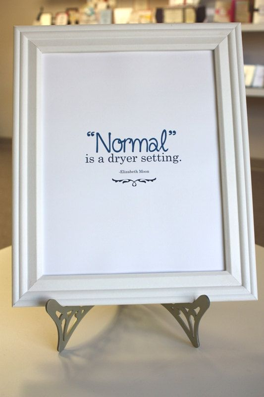 Normal Autism Awareness Quote  Donation to by AllisonBDesigns. , via Etsy. - challenging the norm!
