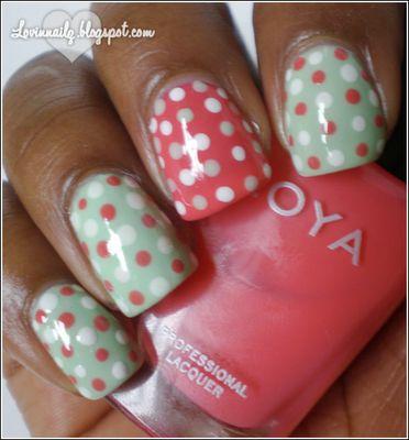 Spring polka dots ♥♥