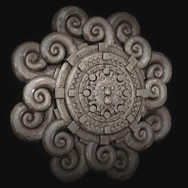 Create an Intricate Mayan Flower using ZBrush