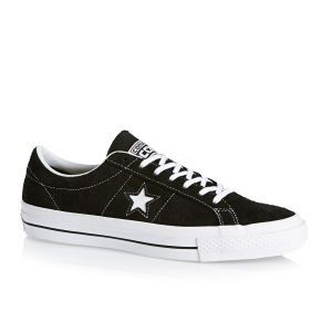 Converse Trainers - Converse One Star Trainers - Black/white/gum