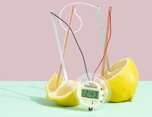Lemon clock, anyone? 6 Cool Science Experiment Kits for Kids