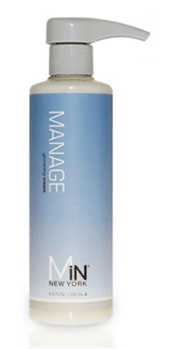 """Mins' New York Manage Grooming Cream by MiN New York. $20.00. Be in control. Manage Grooming Cream works great for taming naturally curly or wavy hair too. Weightless conditioning cream delivers ultimate style and manageability. Be in control. Weightless conditioning cream delivers ultimate style and manageability without the """"product"""" look. Manage Grooming Cream works great for taming naturally curly or wavy hair too. Key Ingredients: Biotin, Zinc, Sulfate, Azelaic Acid, Saw Pal..."""