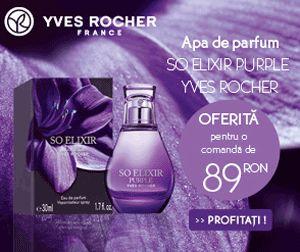 Apa de parfum Promotile Yves Rocher Online. Promotii, oferte, cadouri si surprize la comenzile online.