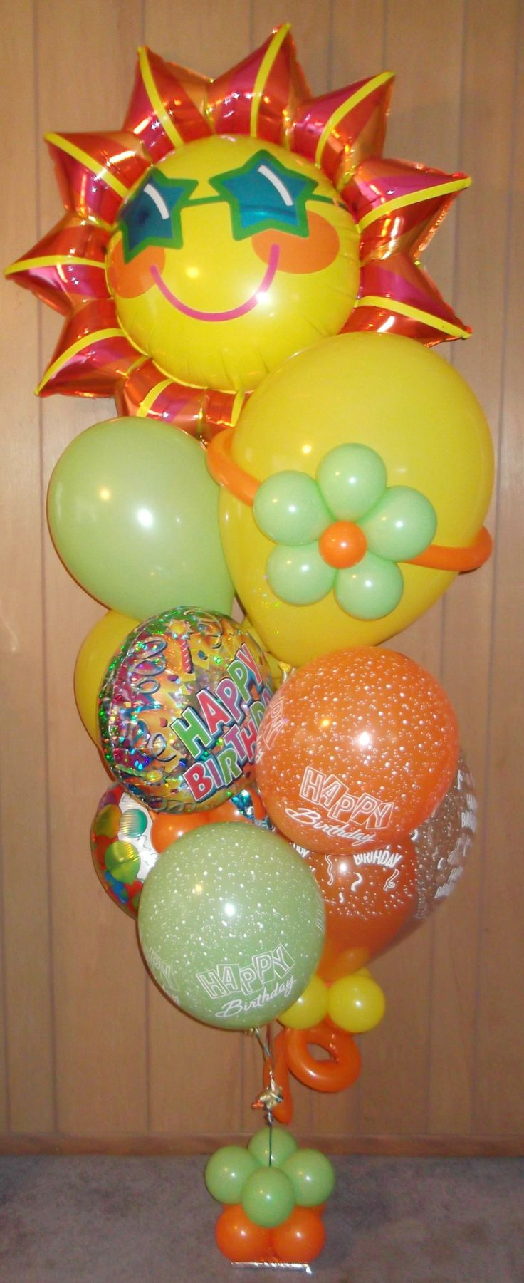 61 best balloons and more gifts bouquets images on for Balloons arrangement decoration