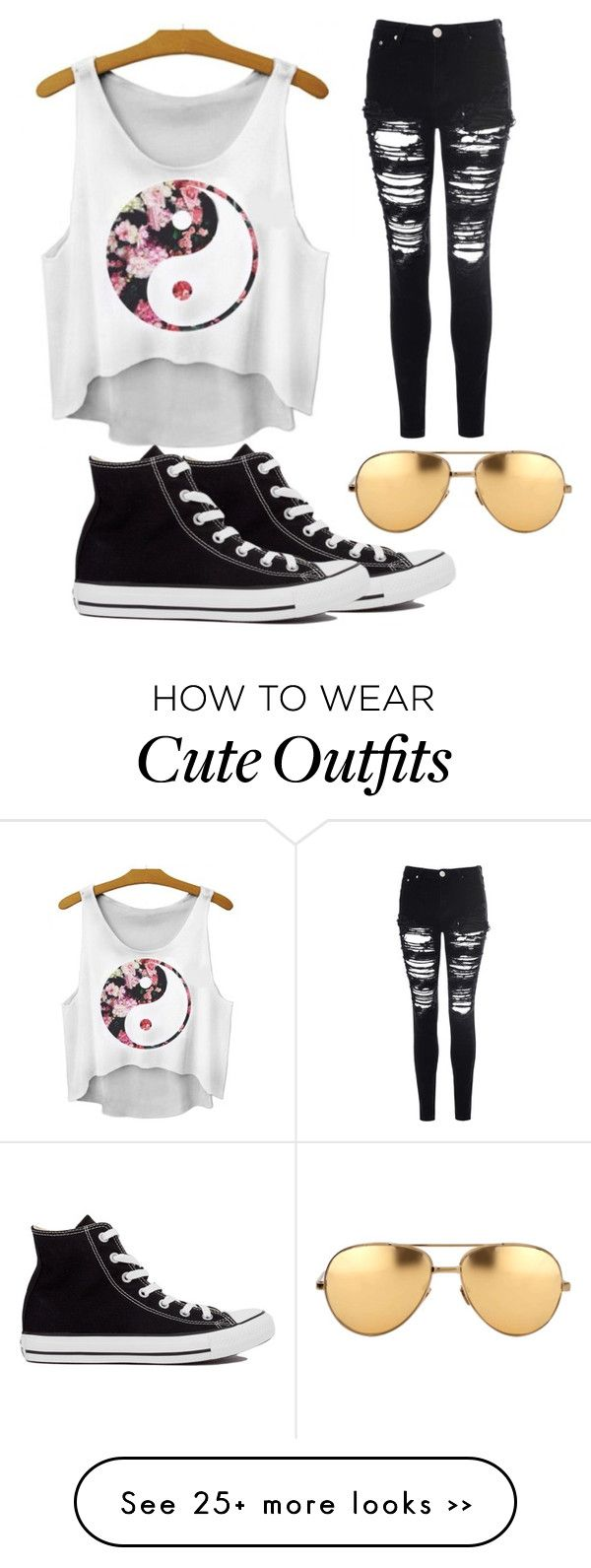 """The Cute Outfit"" by vanland on Polyvore"