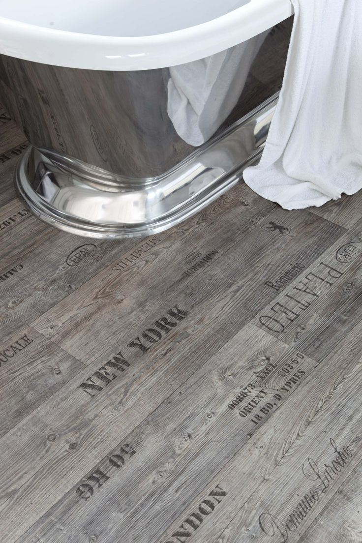 Writing on the floor vinyl flooring homeideas design for Wood effect vinyl flooring bathroom
