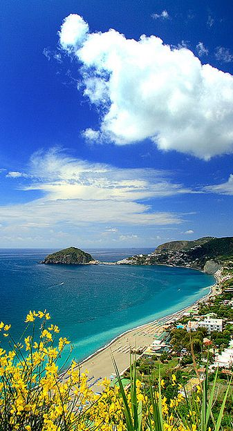 ✮ Spiaggia dei Maronti, Island of Ischia, Gulf of Napoli, Italy