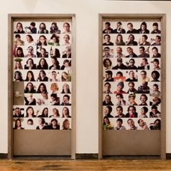 Girls and Boys Bathrooms at Quirky.com #Quirky #Restroom #Office_Design: The Doors, Boys Bathroom, Bathroom Doors, Offices Spaces, Boys Bedrooms, Brilliant Idea, Work Spaces, Bedrooms Doors, Bathroom Signs